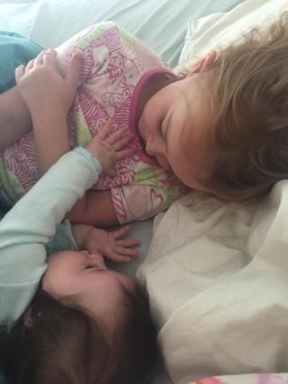 amelia and sister